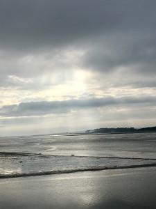 Menai Straits at Carnarvon