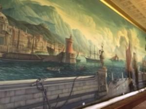 Mural at Plas Newydd