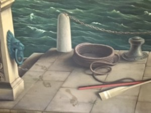 Neptune's footprints, Plas Newydd