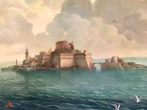 Rex Whistler, broken Windsor Castle